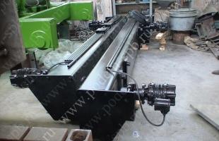 Кран мостовой двухбалочный опорный во взрывозащищенном исполнении