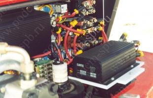 Электрический погрузчик (электропогрузчик)
