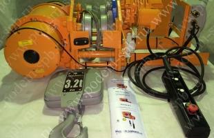 Канатные электрические взрывобезопасные