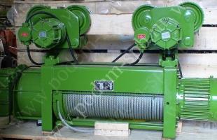 Таль электрическая канатная тип BT