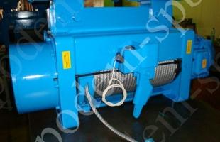Таль (тельфер) электрическая канатная тип MHM