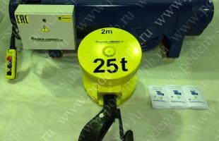 Таль стационарная 25.0 тонн марка 12МТ763 H12V1-4/1