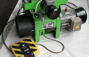 Таль электрическая канатная тип RSMT