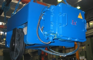 Таль электрическая канатная стационарная тип VVAT