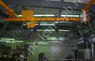 Токоподвод кабельный по тросу