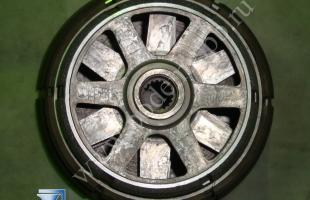 Тормоз двигателя подъема