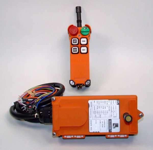 Радиоуправление TELECRANE F21-4