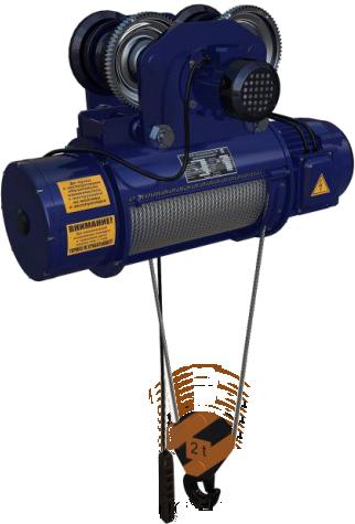 Таль и тельфер электрический тип Т c маркировкой СТ