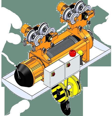 Таль и тельфер электрический тип Т и МТ для атомной промышленности