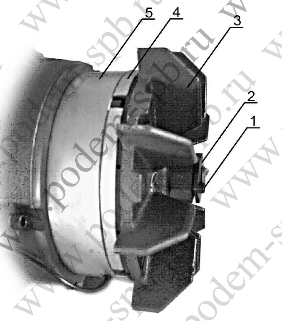 Электродвигатель тележки передвижения замена тормоза