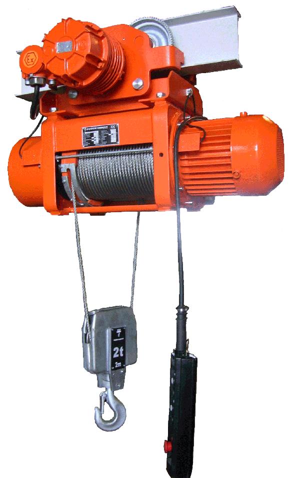 Таль и тельфер электрический тип BT и BMT