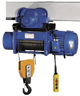 Таль и тельфер электрический тип СТ
