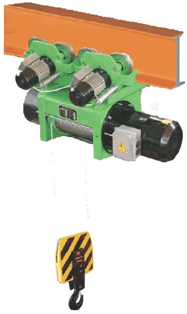 Таль и тельфер электрический тип RSМ и RSMT